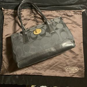 Coach Madeline Signature Tote, Leather/Signature
